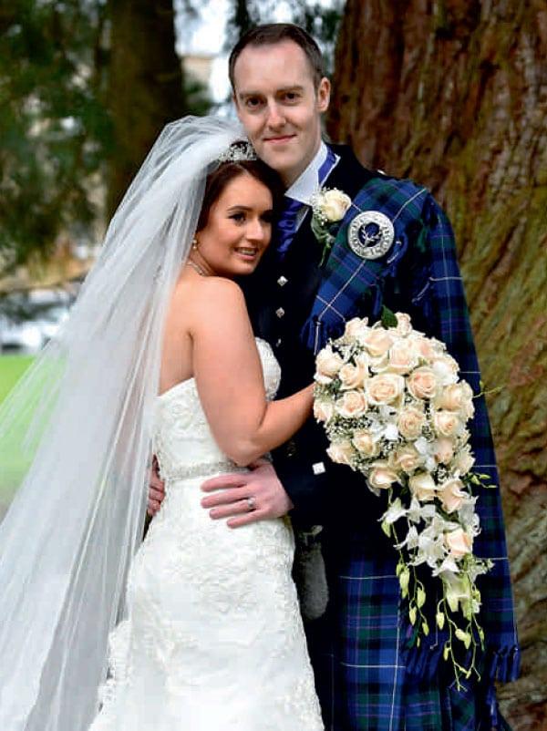 wedding flowers ayrshire