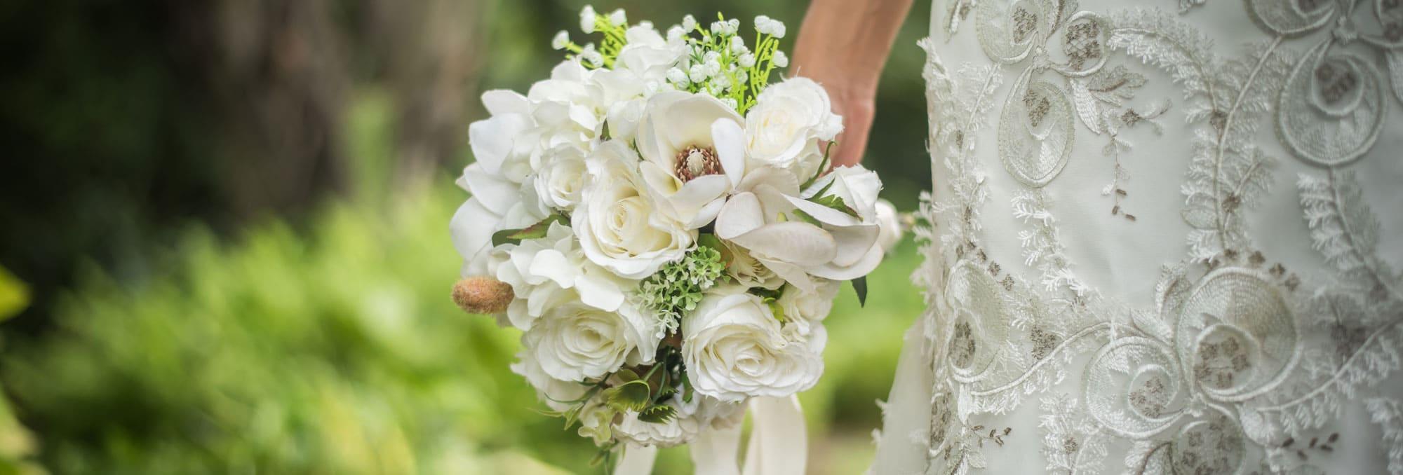 wedding flowers banner